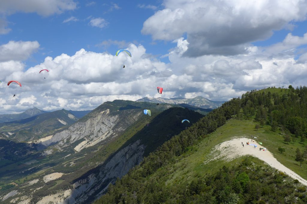 Vol en parapente stage perfectionnement et cross en Provence